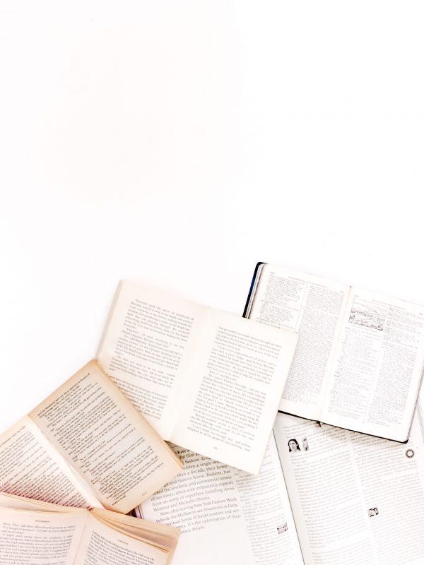 Des chiffres & des livres (auto-publiés)