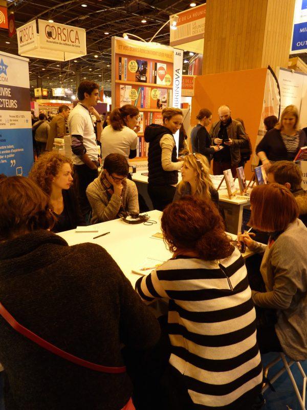 Salon du Livre, jour 2 – Ateliers, bookshirts et booktubeurs