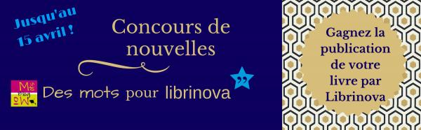 Concours de nouvelles «Des mots pour Librinova»