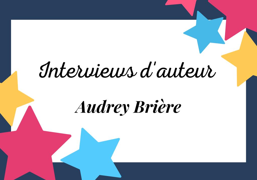 Portrait d'Audrey Brière, auteur à suspense