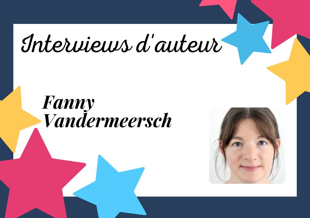 Portrait de Fanny Vandermeersch, auteur à la plume optimiste