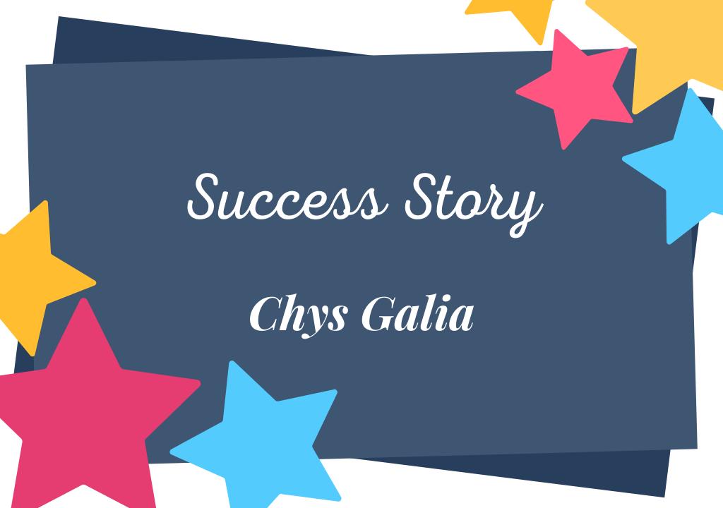 Chrys Galia ou le pari réussi de l'autoédition