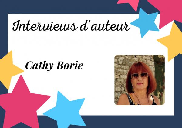Portrait d'auteur auto-édité : Cathy Borie