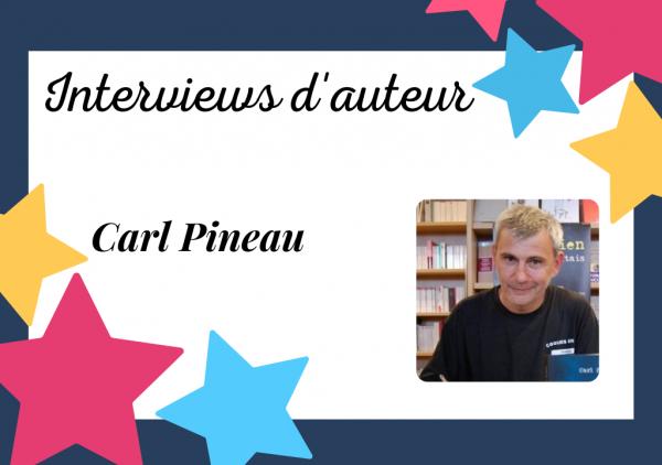 Portrait d'auteur auto-édité : Carl Pineau