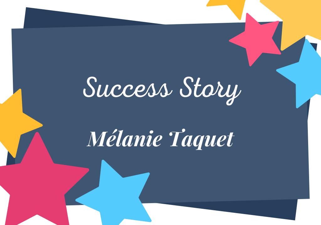 Auteure d'un best-seller auto-édité et désormais édité : la dolce vita de Mélanie Taquet
