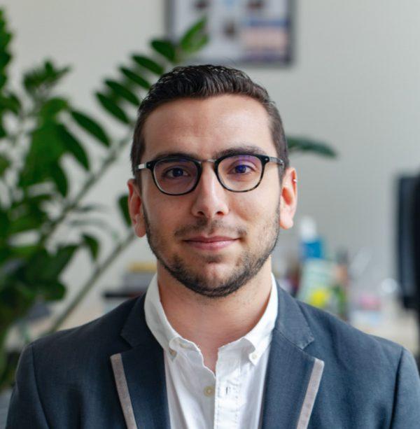 Portrait de Mathieu, chargé de recrutement chez Librinova