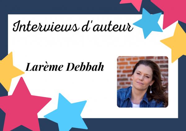 Portrait de Larème Debbah, autrice auto-éditée mue par une soif d'écrire