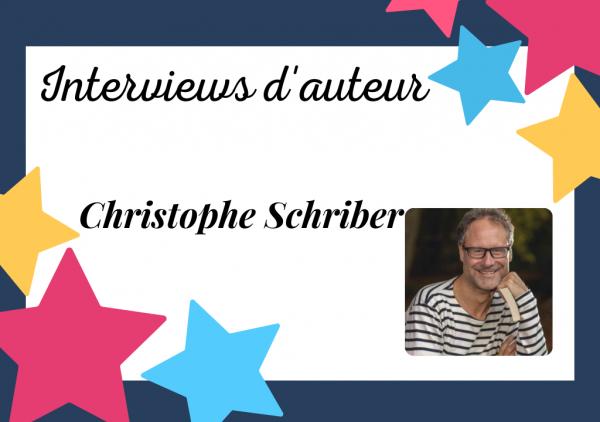 Portrait de Christophe Schriber, auteur d'un thriller auto-édité