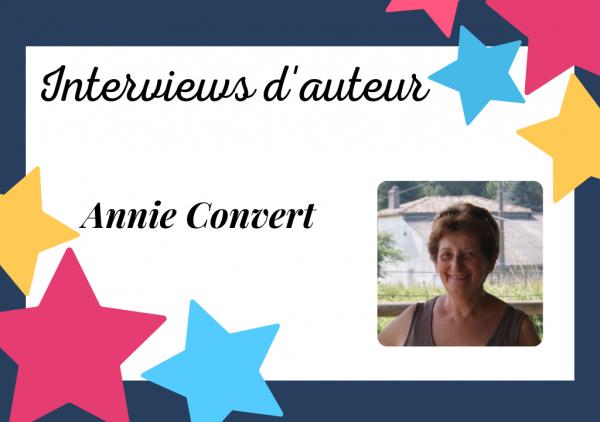 Portrait d'Annie Convert, autrice auto-éditée inspirée par les histoires de famille