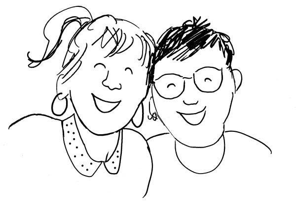 Témoignage des deux talentueuses graphistes du Petit Atelier
