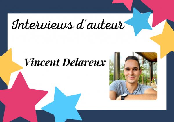 Portrait de Vincent Delareux, auteur auto-édité obsédé par ses histoires