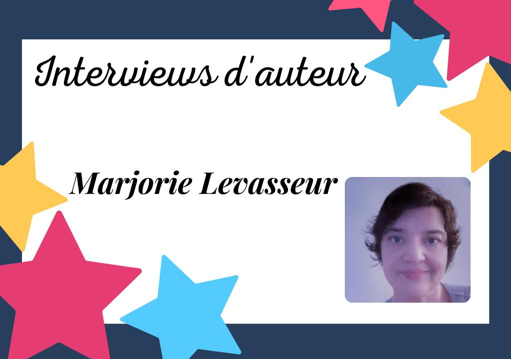 Portrait de Marjorie Levasseur, autrice auto-éditée passionnée et sensible