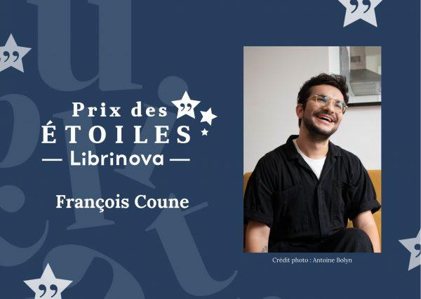 Prix littéraire Librinova : portrait de François Coune, influenceur littéraire, membre du jury de l'édition 2021