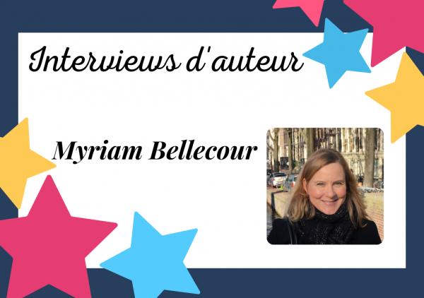Portrait de Myriam Bellecour, autrice auto-éditée surprenante et passionnée